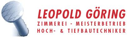 Leopold Göring Zimmerei
